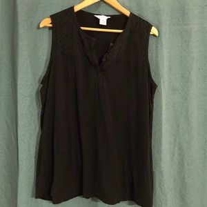 Liz Claiborne Sleeveless top